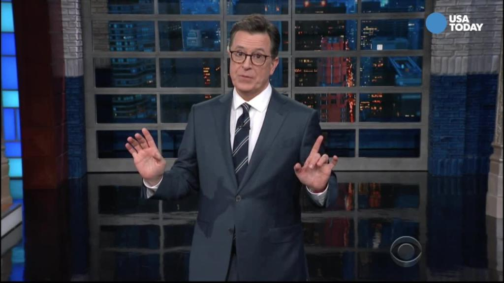 Colbert reveals what made Trump pay attention at G-7 summit