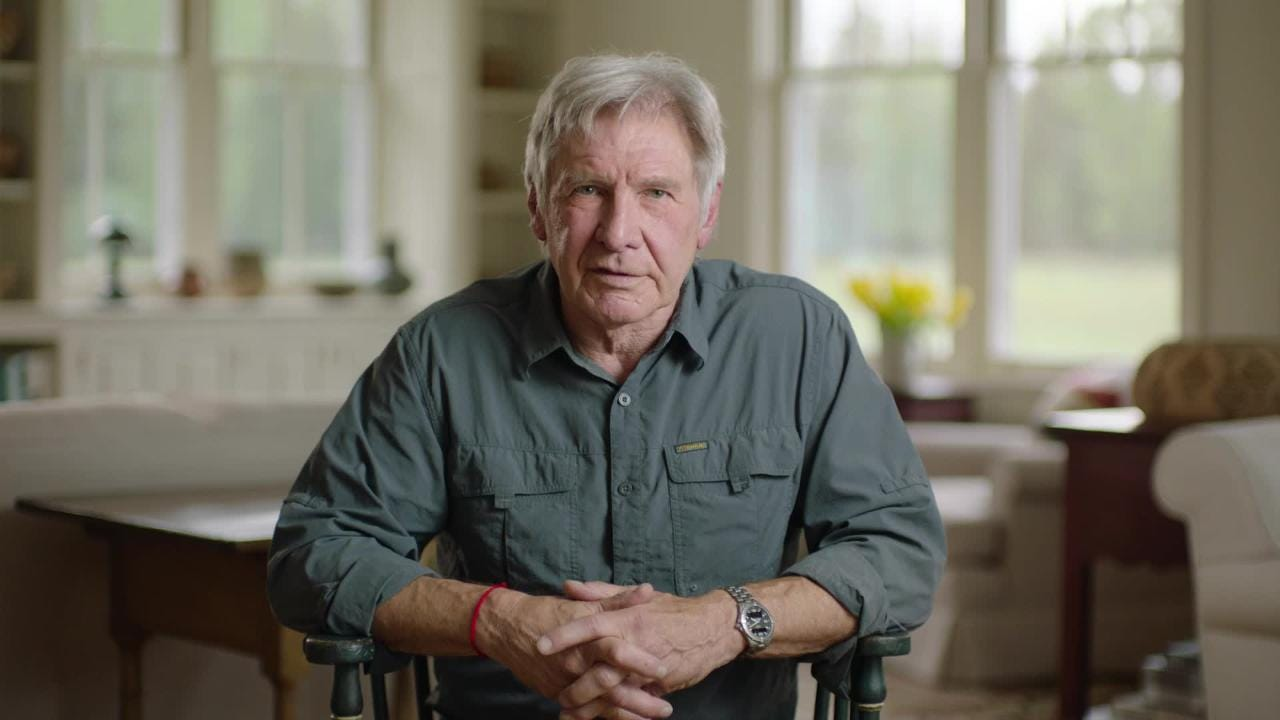 The Academy Awards of the conservation world are here, and nominated actor Harrison Ford has something to say to this year's Indy Prize winner.