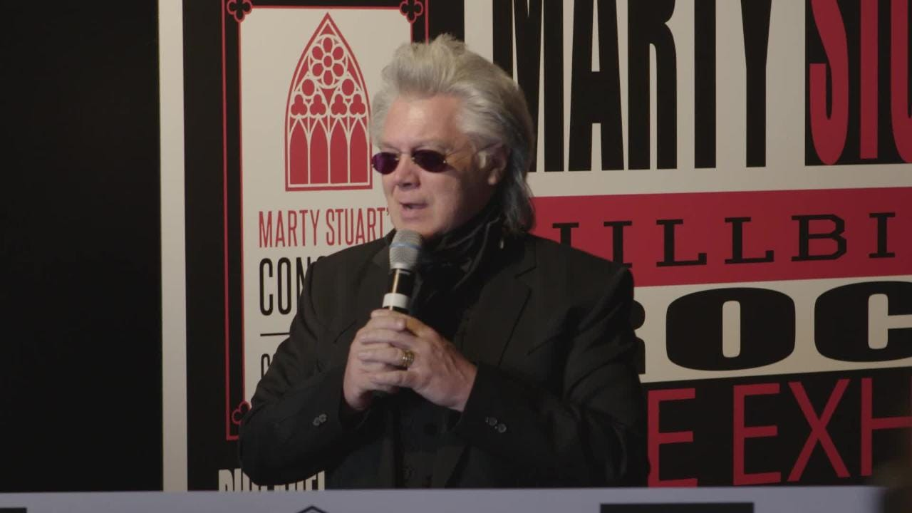 On June 9, 2018 Elvis Presley's Graceland officially opened the all-new exhibit, Hillbilly Rock, with Marty Stuart at Elvis Presley's Memphis.