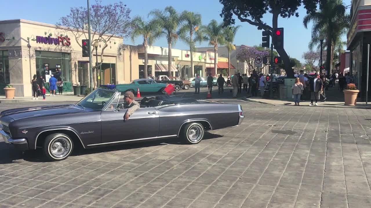 Watch classic cars cruise into downtown Oxnard