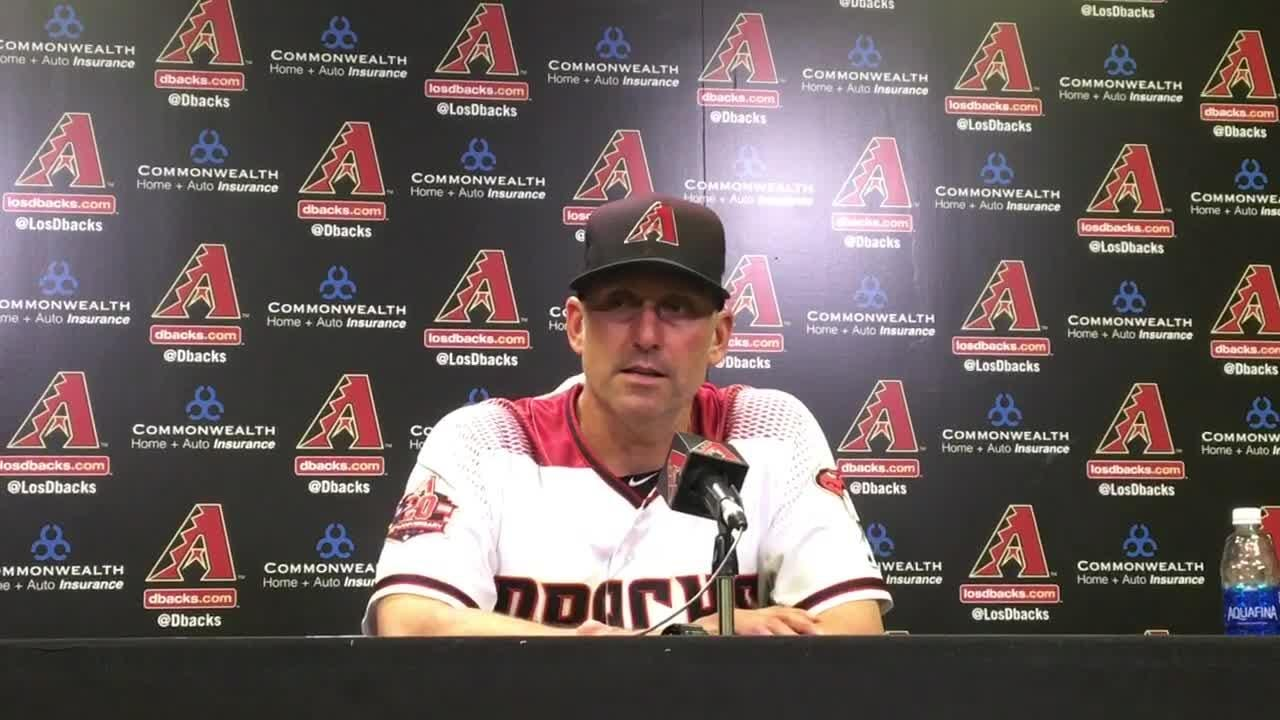 Diamondbacks manager Torey Lovullo on comeback win vs. Pirates