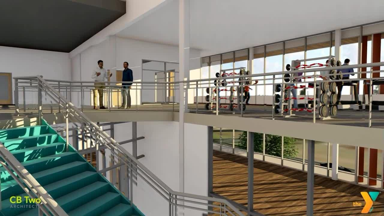 This 3D video gives viewers a peek inside the conception design of the new YMCA planned for downtown Salem.