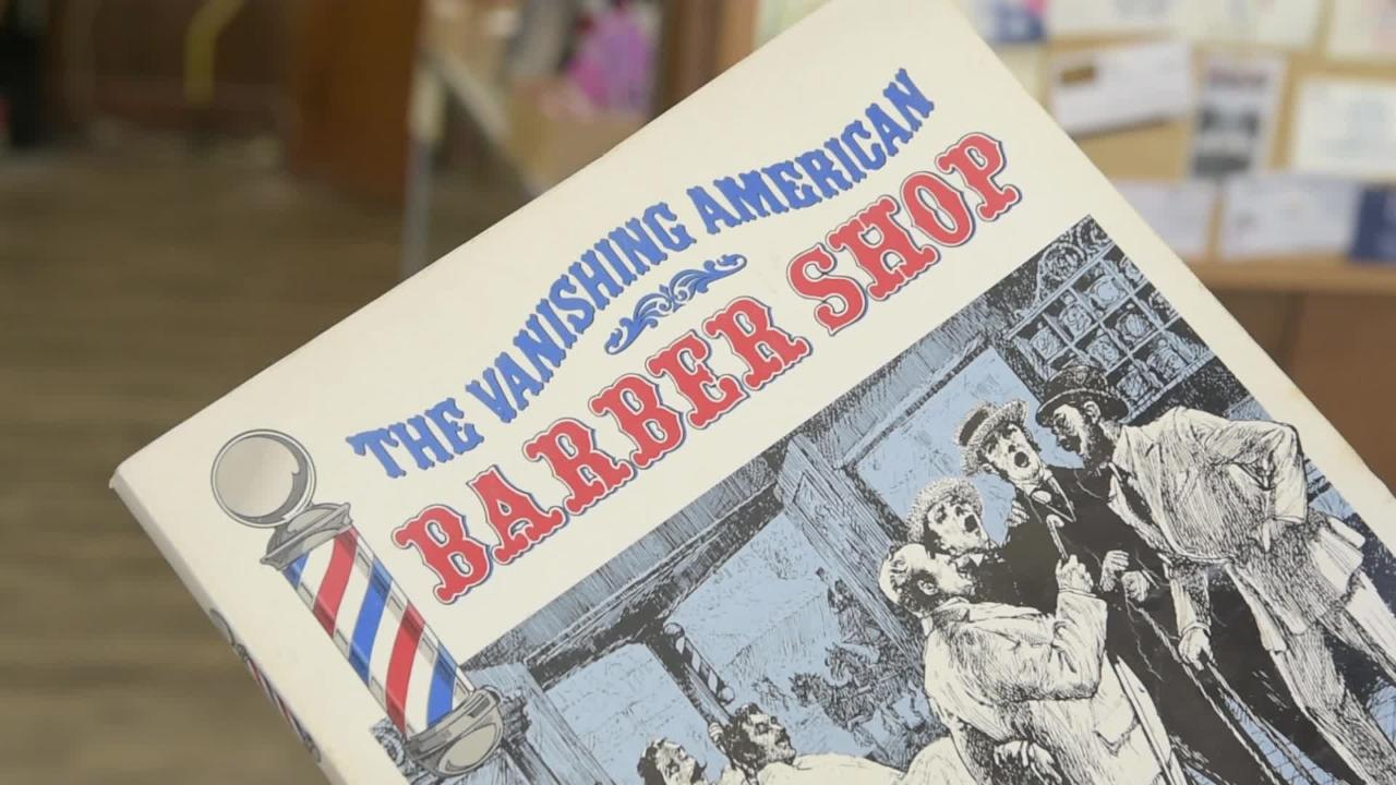 'A disappearing place': Hanover barber just keeps trimming