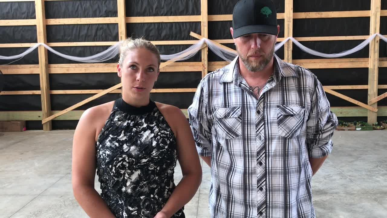 Bethany and Todd Snowden are eyeing a fall opening for a wedding and events space on Ohio 772 just south of city.