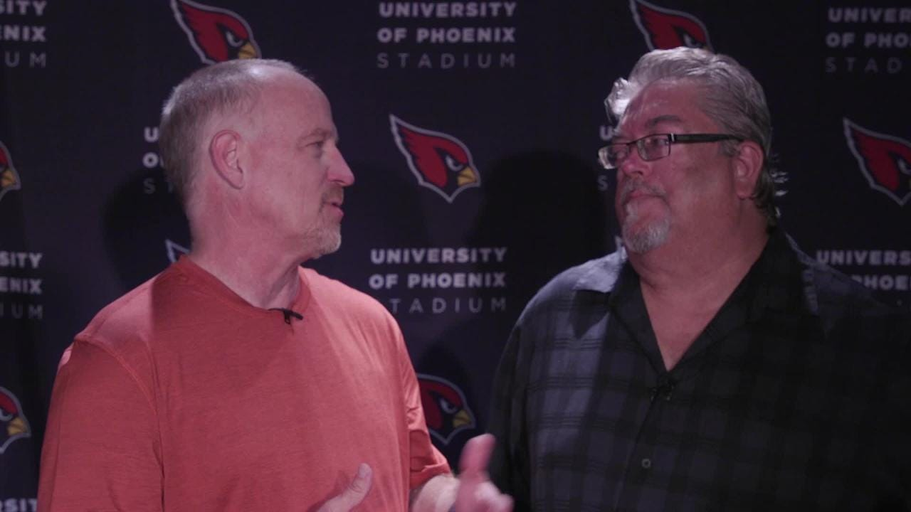 azcentral sports' Kent Somers and Bob McManaman talk about David Johnson's holdout and the performances of quarterbacks Sam Bradford and Josh Rosen.