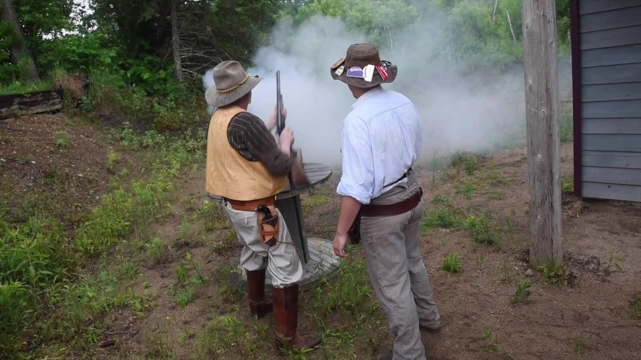 Sport mixes competitive shooting, classic cowboy culture