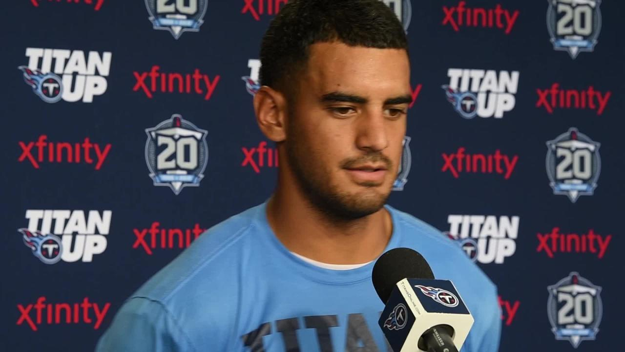 378c3747607 Titans: Marcus Mariota's jersey is among the NFL's hottest sellers