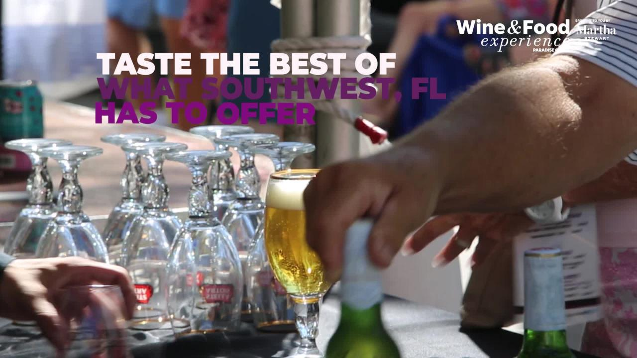 Scenes from the 2017 Paradise Coast Wine & Food Experience in Naples, Florida.