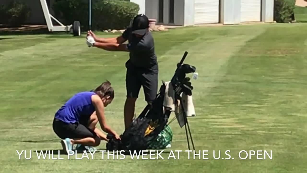 Halfway through his ASU career, golfer Chun An Yu from Taiwan qualifies for the U.S. Open