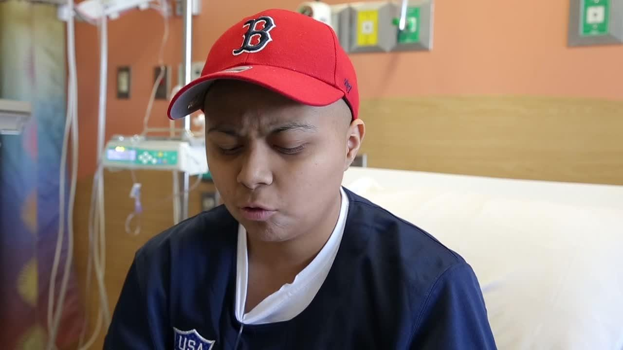 Del Valle soccer player Janet Rodriguez had her leg amputated after doctors found osteosarcoma in her knee joint. She graduated June 12, 2018.