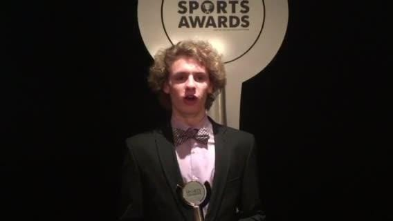Southern's Matt Maxwell was named Boys Volleyball Player of the Year at the 2018 APP Sports Awards.