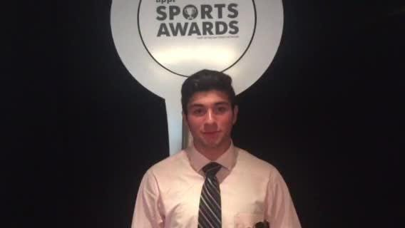After setting school records and leading the Hornets to a state title, Holmdel's Arena was named Boys Soccer Player of the Year at the 2018 APP Sports Awards