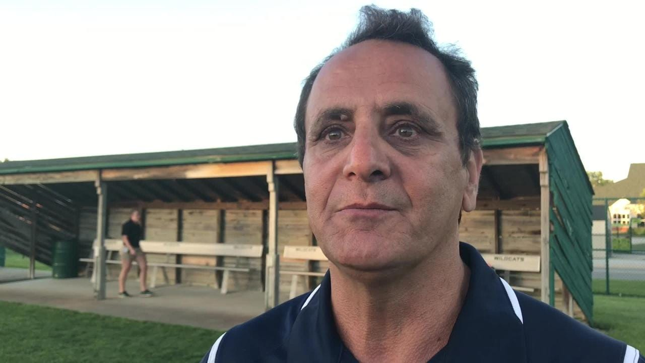 Hear comments from coach Jamal Mubarakeh and freshman goalie Kennedi Pugh following a 1-0 state semifinal loss to Marian on June 13, 2018.