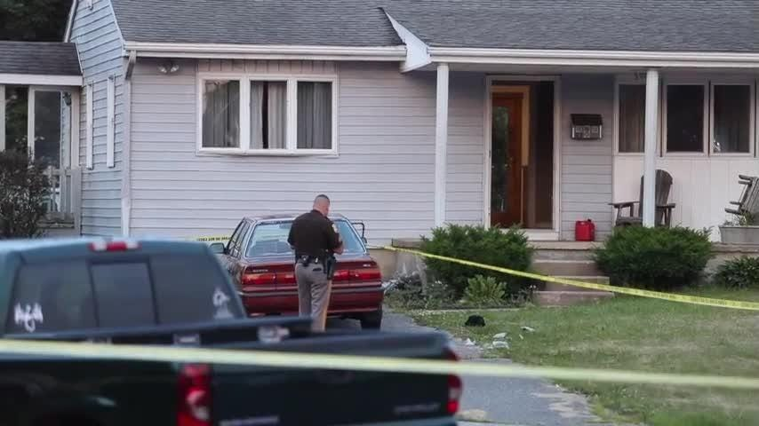 Two people are in stable condition after gunfire erupted in Rambleton Acres near New Castle Wednesday evening.