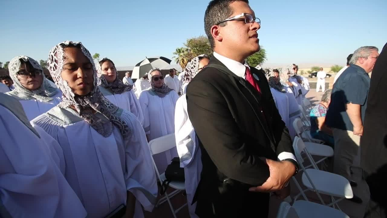 Luz del Mundo church opens in Palm Springs with more than 100 members.