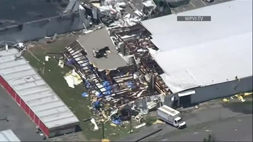 Officials confirmed an EF2 tornado touched down in Wilkes-Barre, Pennsylvania, late Wednesday and a second tornado touched down in Bradford County.