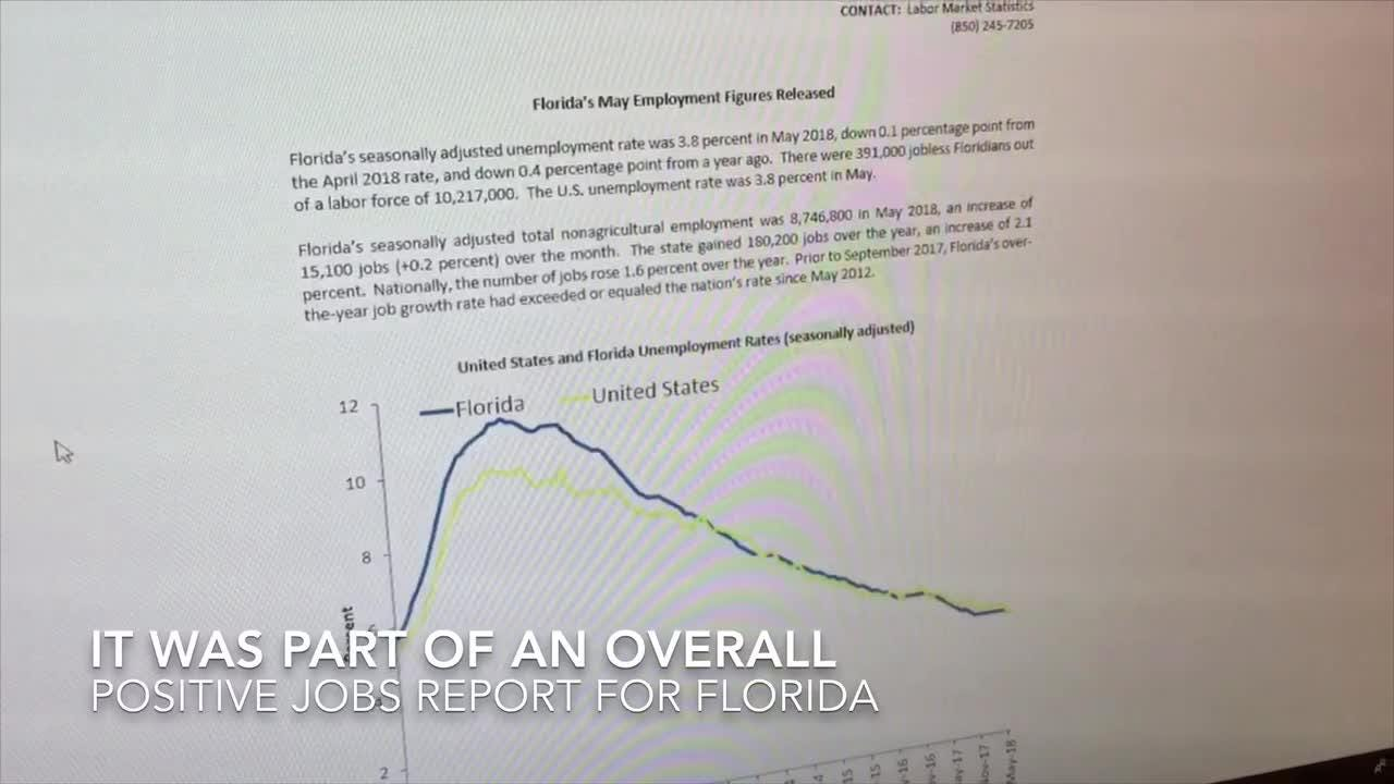 Video: Jobs grow, as does the Space Coast labor force