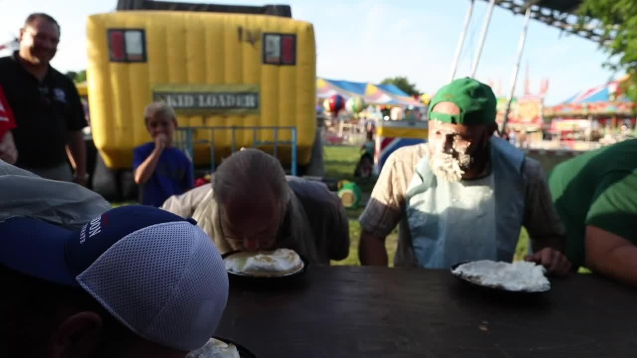 Bullitt County Fair pie eating contest? We'll try that