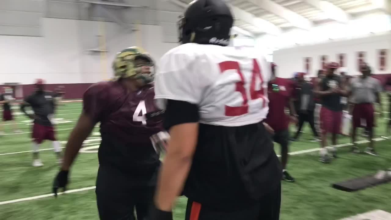 DT Tru Thompson dominates at FSU camp for the fourth straight year