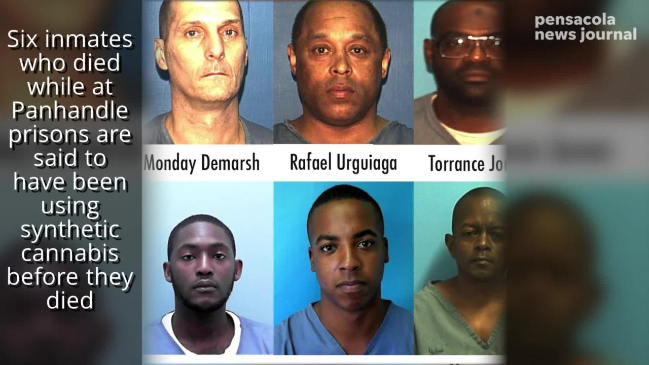 The Florida Department of Corrections says it's enhancing searches and K-9 use to try stop contraband coming in.
