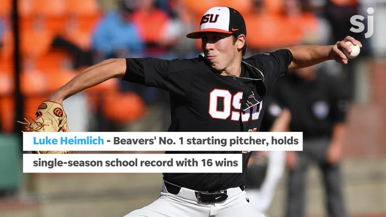 Oregon State is returning to the College World Series for the second year in a row. Here's five key players to watch.