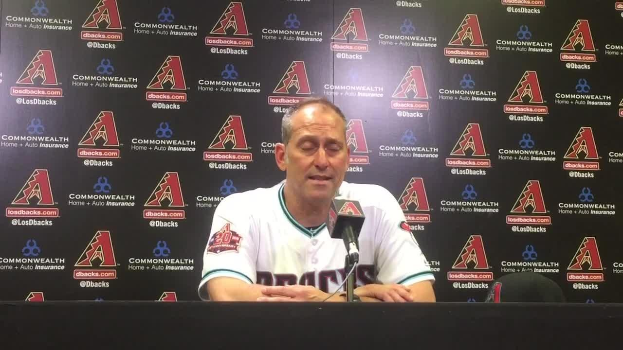 Diamondbacks manager Torey Lovullo on 7-3 win over Mets
