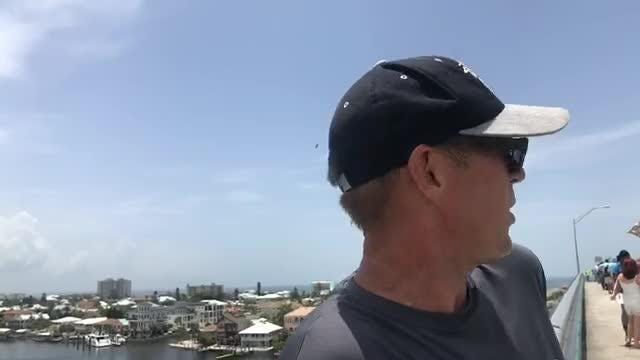 Watch the Facebook Live from the Matanzas Pass Bridge in Fort Myers Beach, where activists and supporters of SWFL Clean Water have gathered to protest releases of brown Lake Okeechobee Water on June 16, 2018.