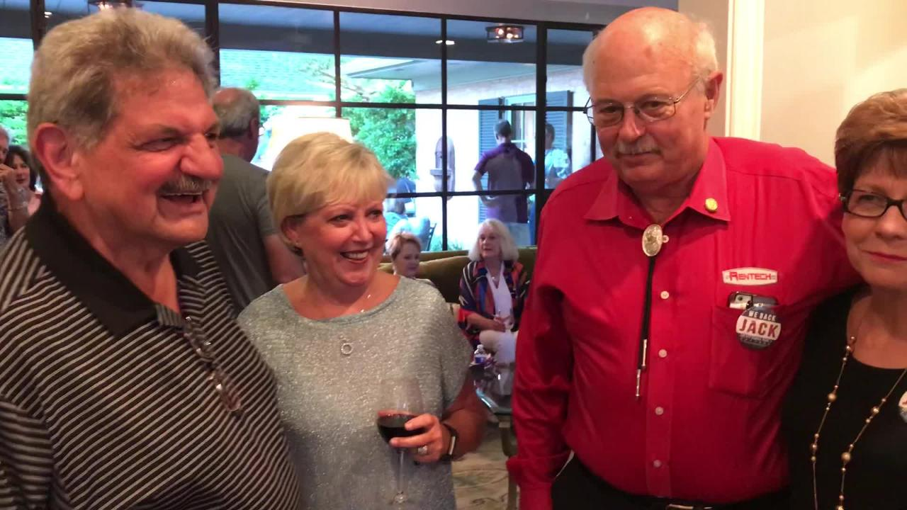 Jack Rentz discusses his victory in Abilene City Council Place 2 race