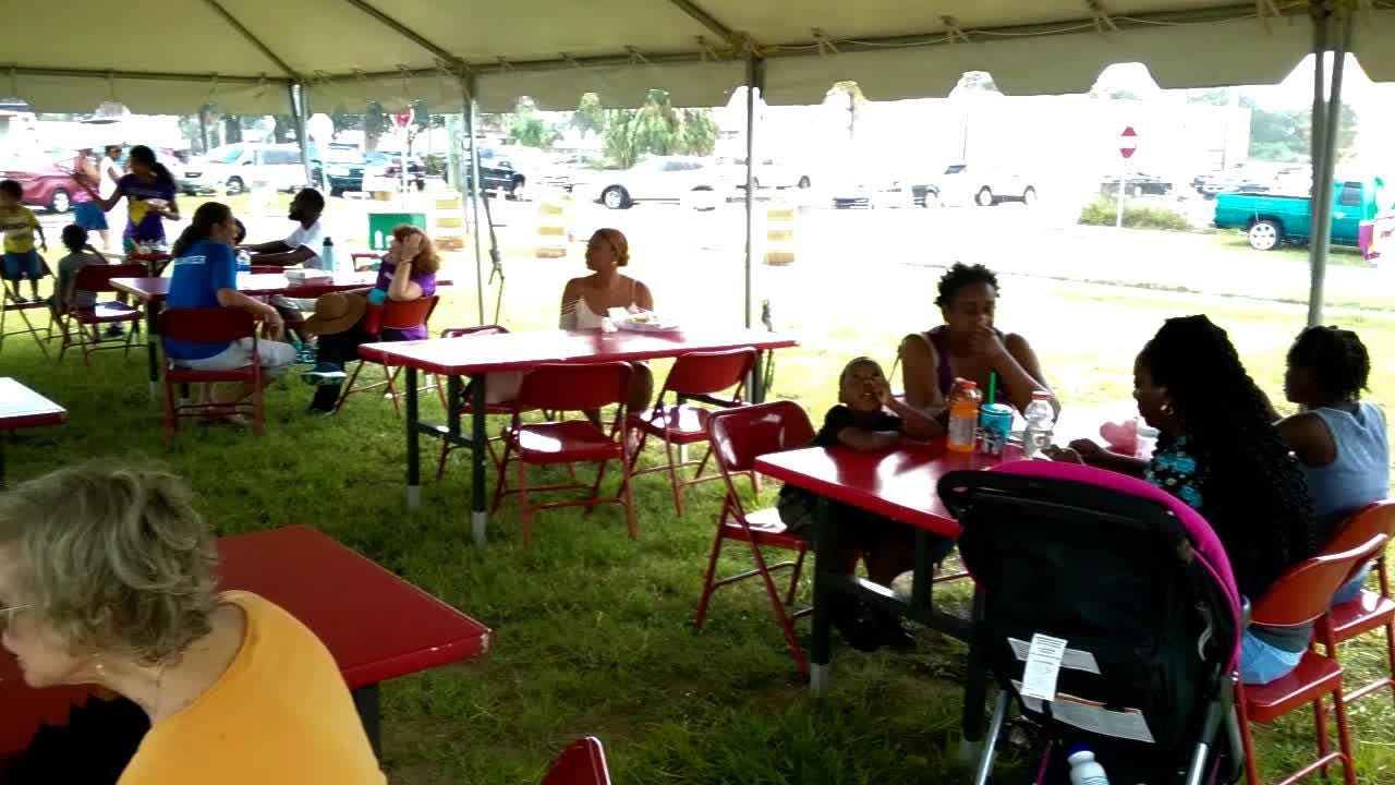 Scenes from the Juneteenth Arts & Cultural Festival in Cocoa