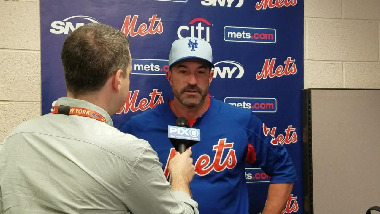 Mets manager Mickey Callaway previews Zack Wheeler's start