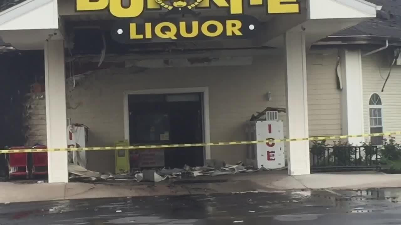 Take a look at the damage done to the Buy Rite in Waretown after an overnight fire on June 18, 2018.
