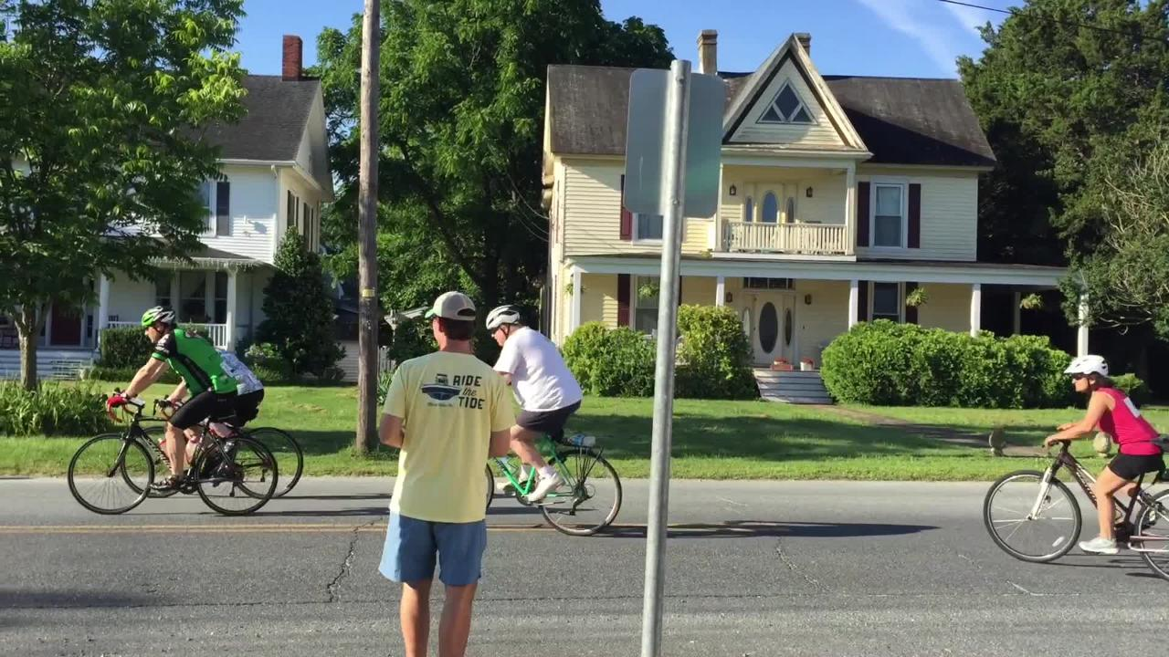 More than 200 bicyclists participated in the Le Tour de Shore on Virginia's Eastern Shore on June 16.