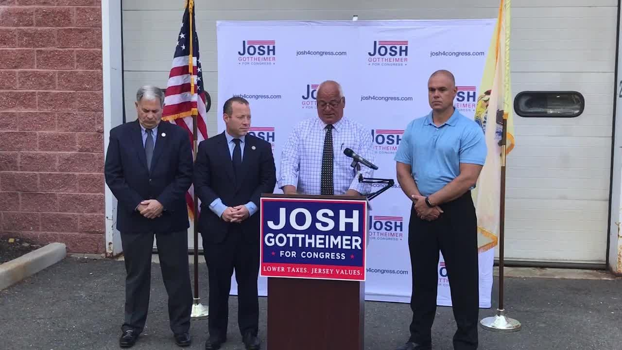 Bergen County Sheriff Michael Saudino endorsed fellow Democrat  Josh Gottheimer in the 5th congressional district race over John McCann, his former legal counsel.
