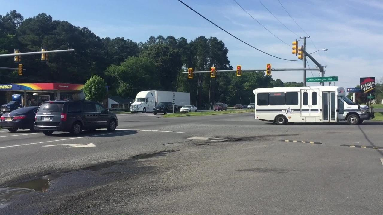 Two intersections on Route 13 in northern Accomack County will get safety improvements.