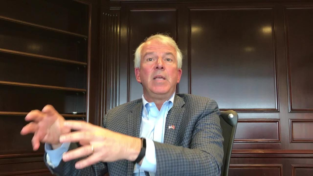 In an interview before the June primary, Republican U.S. Senate candidate Bob Hugin says he would push for tougher border enforcement and a pathway to citizenship for undocumented immigrants.