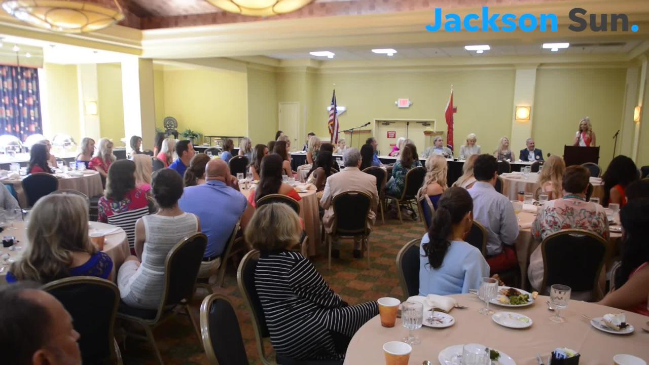 The Jackson Exchange Club President speaks about how Miss Tennessee 2017's story hits close to home for the club.