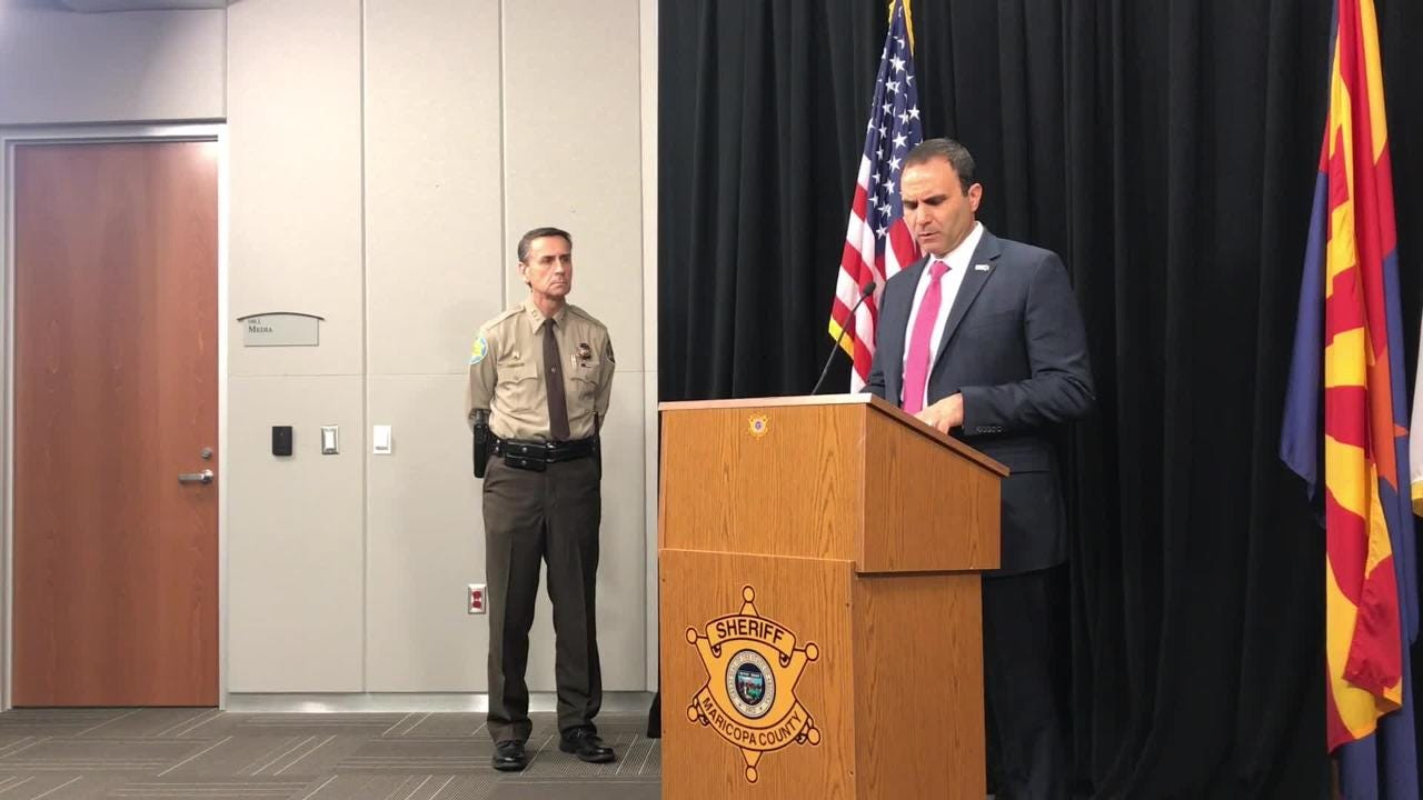 Maricopa County Sheriff Paul Penzone  said that more than 40 percent of inmates in the work-furlough program tested positive for drugs.