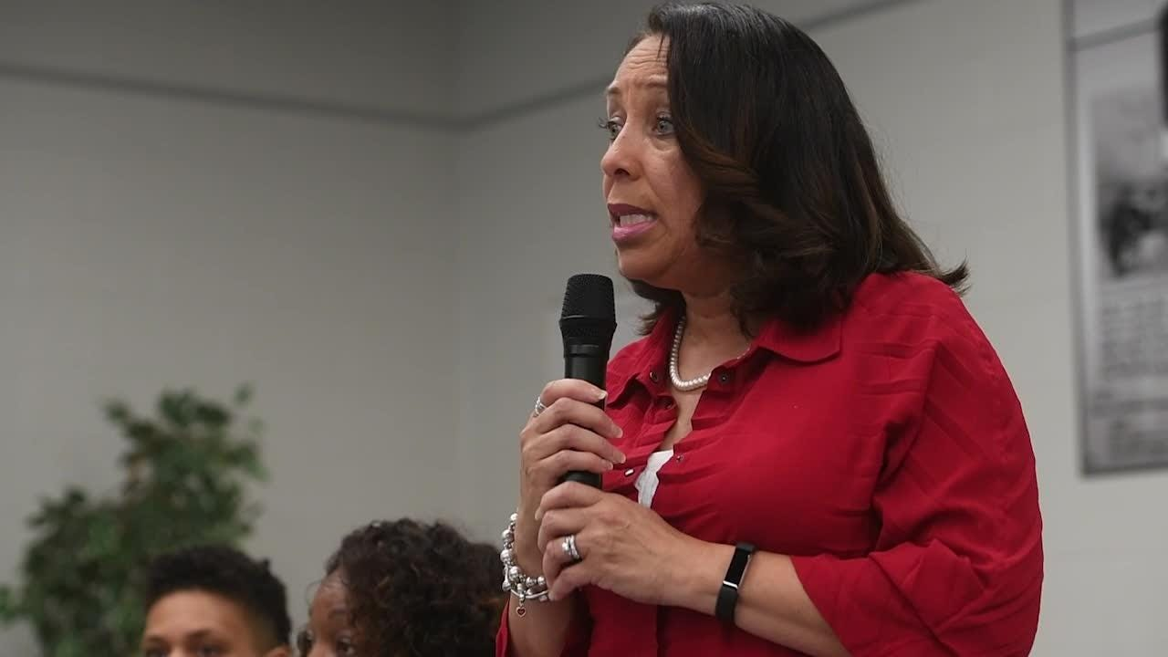 Councilwoman Gwen McKenzie talks about the future of Knoxville College and the Safety Center