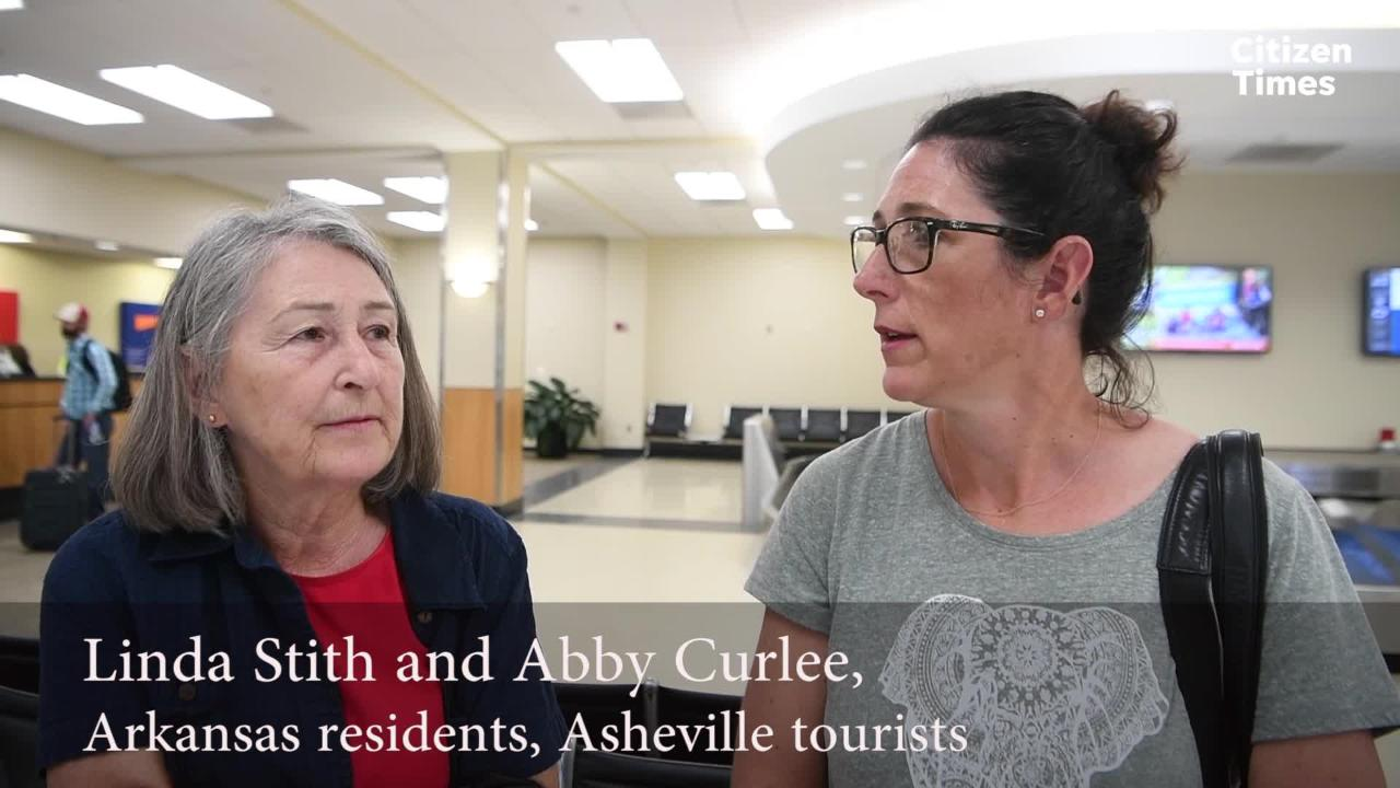 Asheville airport plays key tourism role