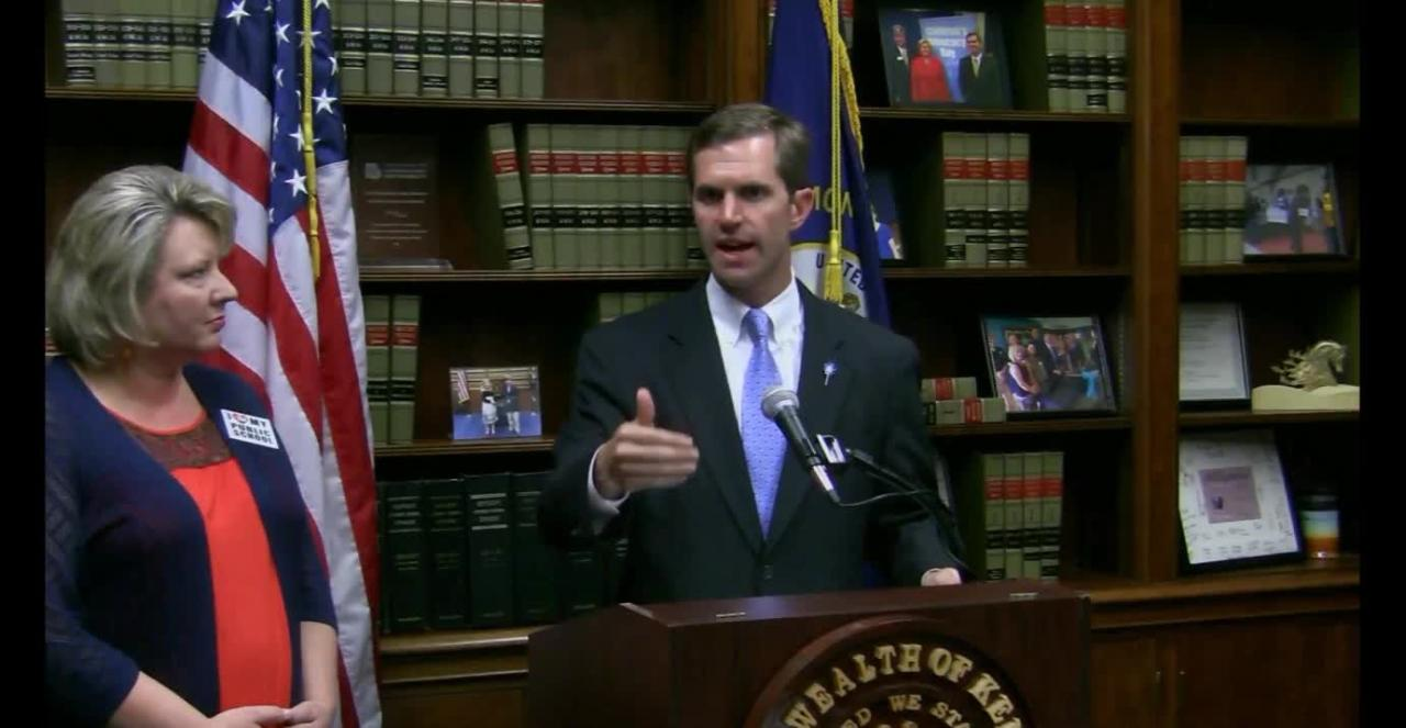 Andy Beshear on struck-down pension bill