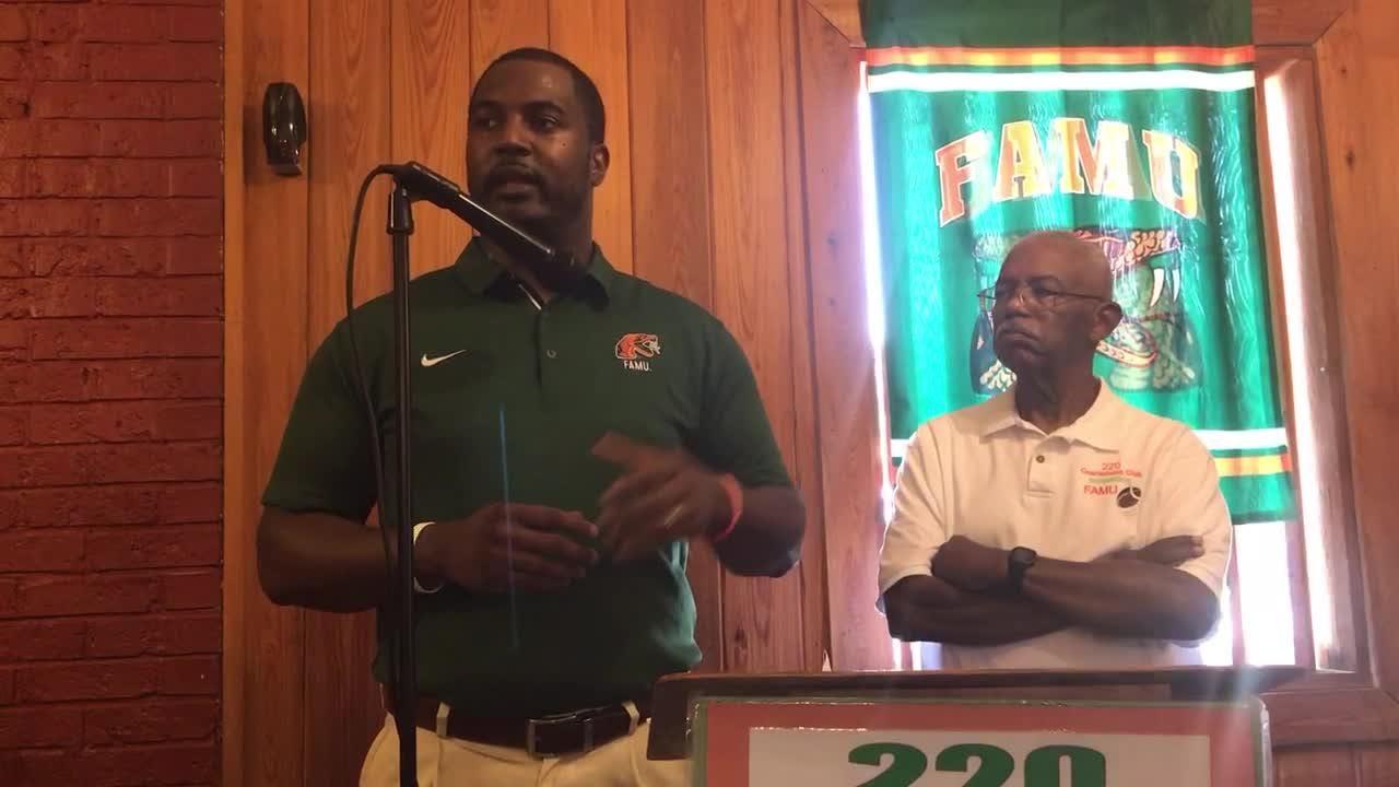 Watch It...Willie Simmons speaks at 220 Quarterback Club meeting.
