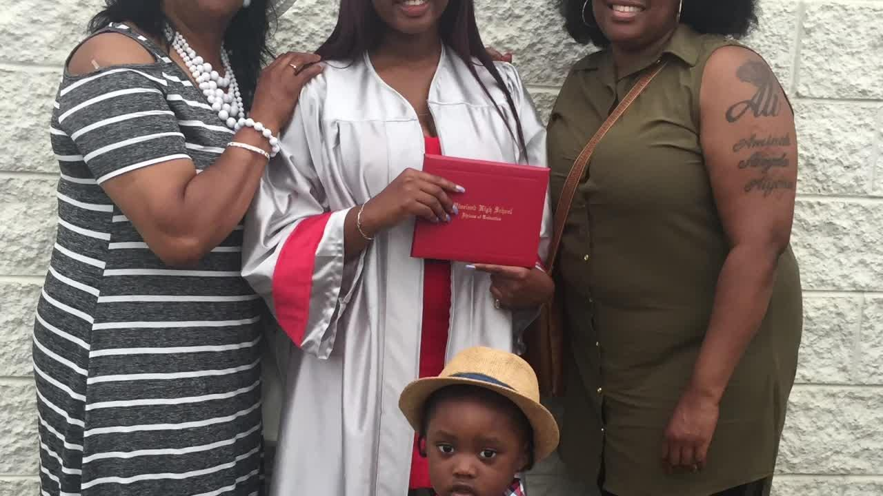 Family and friends celebrate with the Vineland High School Class of 2018.