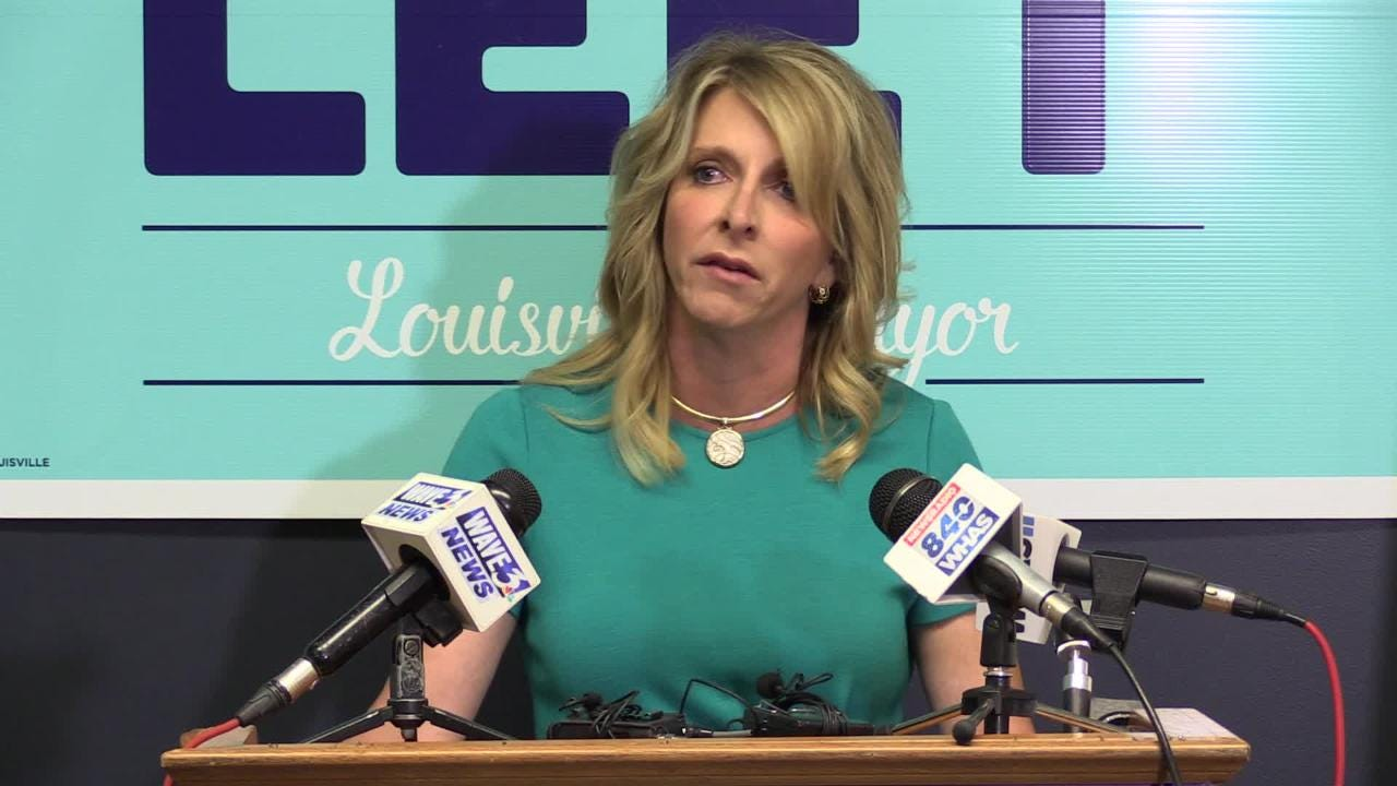 Mayoral candidate Angela Leet question's Fischer's transparency