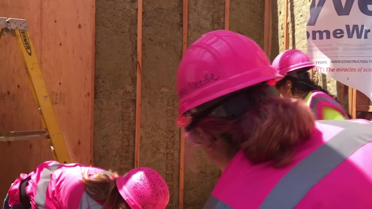 Middle and high school girls took part in a Girls Construction Camp at the Ventura County Office of Education's Career Education Center in Camarillo.