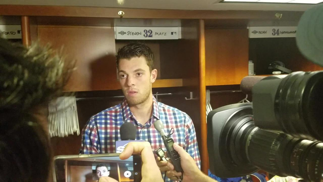 Mets starter Steven Matz on his loss to the Rockies