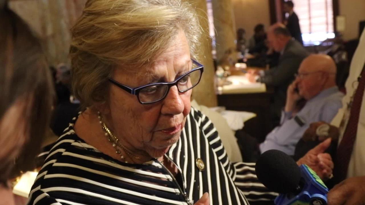 Senator Loretta Weinberg talks about Murphy's budget reaction.