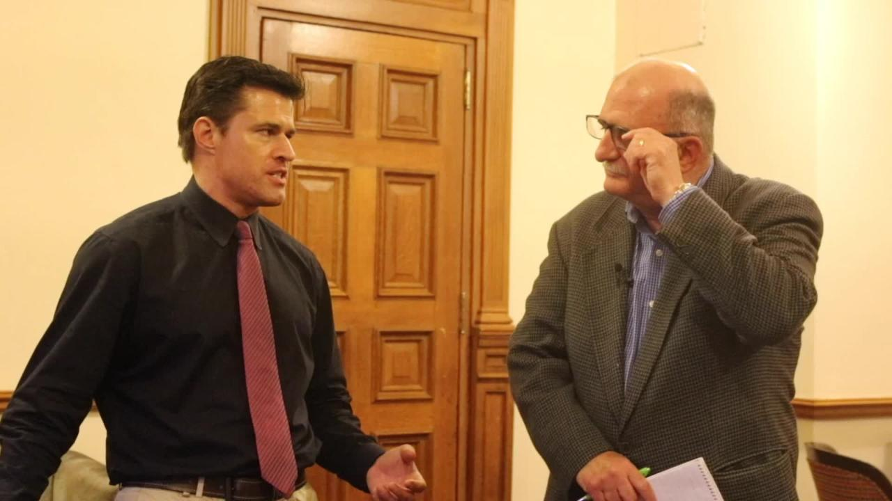Charlie Stile and James Nash talk NJ budget battle and Governor Murphy's reaction