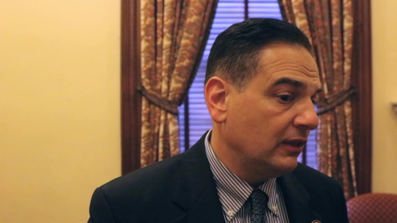 Senator Scutari talks about marijuana legislation