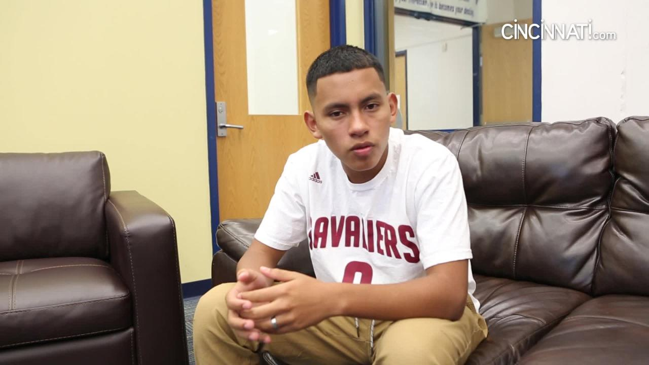 A 16-year-old describes his experience inside an ICE detention facility in Phoenix, Arizona.