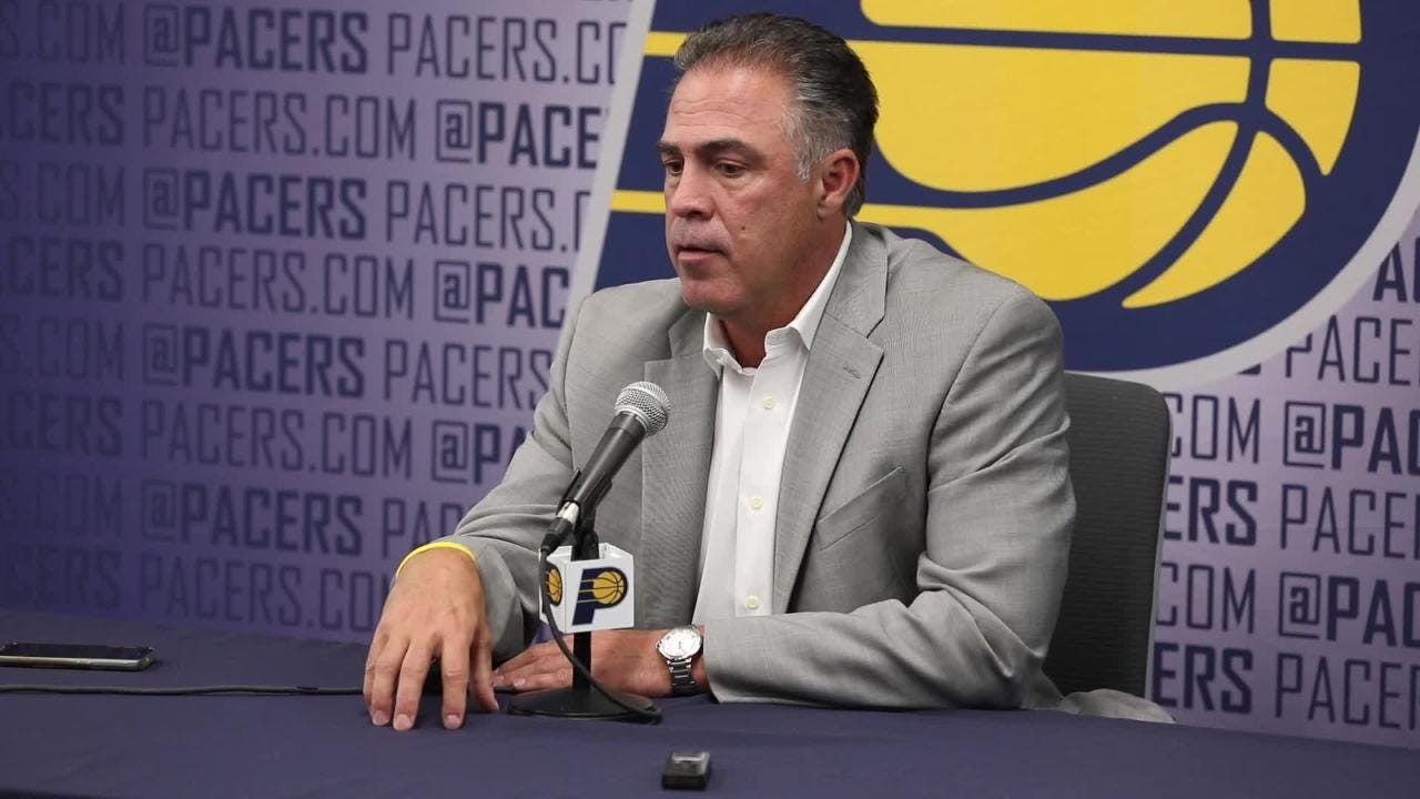 Indiana Pacers general manager Kevin Pritchard talks Aaron Holiday.